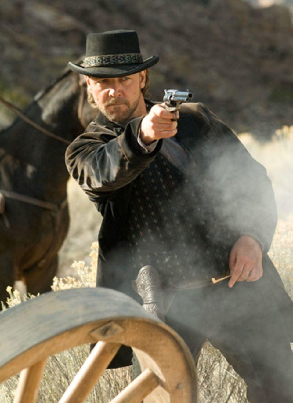 Russell Crowe spielt den gefürchteten Banditen Ben Wade