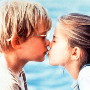 Macaulay Culkin und Anna Chlumsky in 'My Girl', 1991