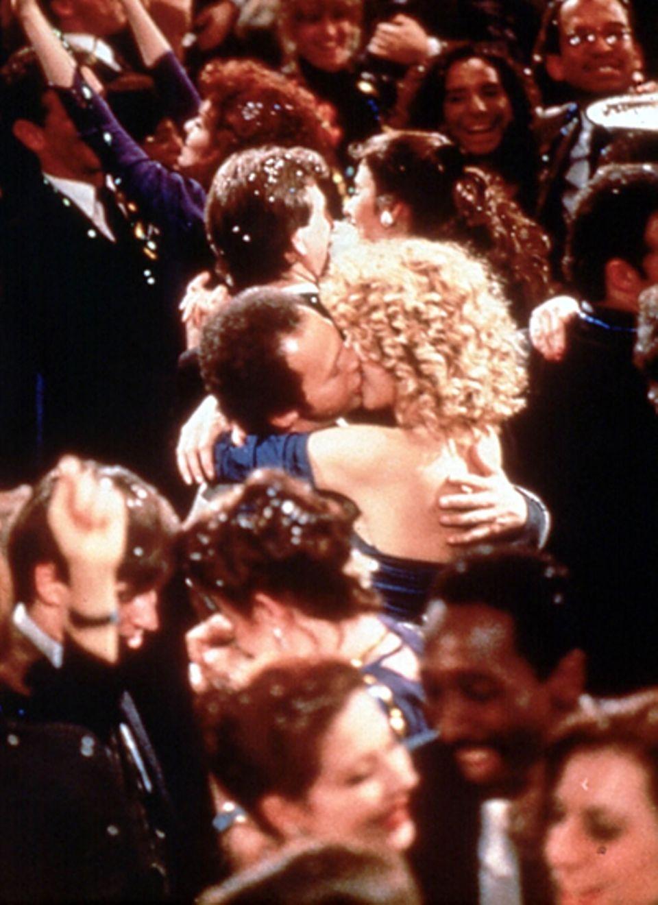 """Meg Ryan und Billy Crystal in """"Harry und Sally"""", 1989"""