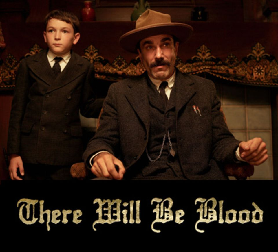 """There Will Be Blood"": Produzenten JoAnne Sellar, Paul Thomas Anderson und Daniel Lupi"