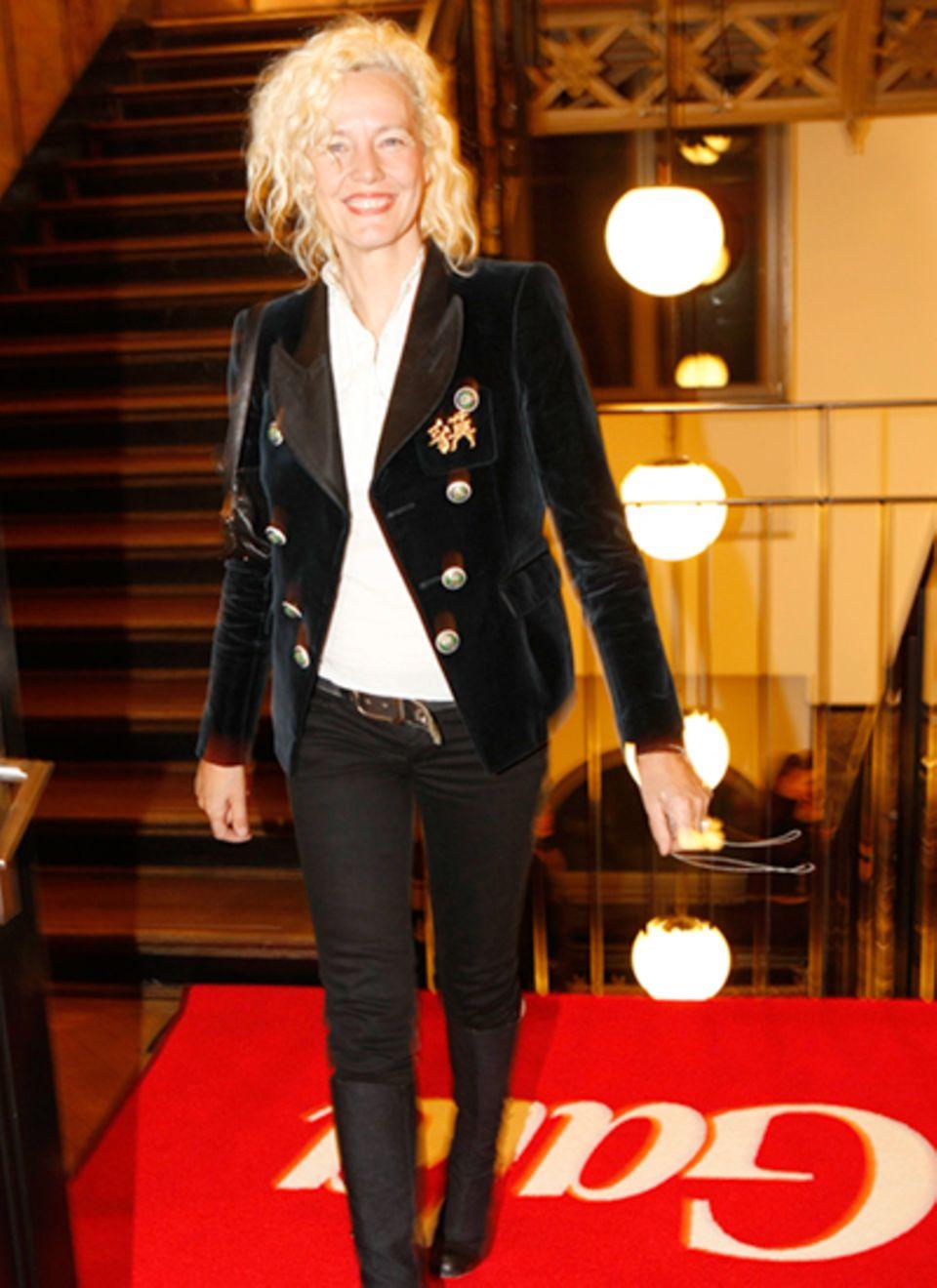 Auch Starfotografin Ellen von Unwerth war Gast an diesem Abend
