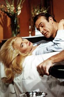 "James Bond Filme: ""Goldfinger"" 1964"