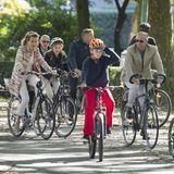 20. September 2015  Die belgische Königsfamilie ist am Sonntag Nachmittag auf Fahrradtour in Brüssel.