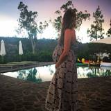 """Wunderschön schwanger: """"Victoria's Secret""""-Engel Behati Prinsloo freut sich schon unbändig auf ihren Nachwuchs mit ihrem Ehemann, dem Sänger Adam Levine."""