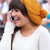 Fröhliche Farben machen gute Laune, auch auf Lea Micheles Kopf.