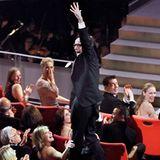 """1999: Roberto Benigni gewinnt für das """"Leben ist schön"""" den Auslands-Oscar und flippt aus."""