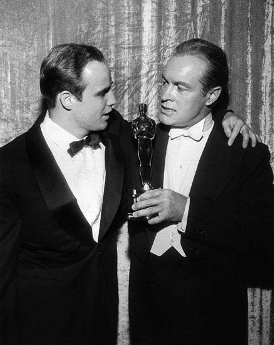 1955: Bob Hope, Marlon Brando