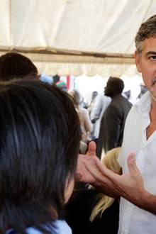 11. Oktober 2010: Ein Hollywoodstar im Sudan: Als UN-Botschafter besucht George Clooney mit einem Fernsehteam das Land in Afrika