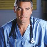"George Clooney in seiner Rolle als Dr. Ross in der Fenrsehserie ""Emergency Room""."