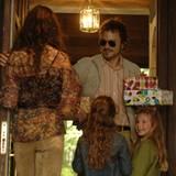 Glückliche Familie? Claire und Robbie mit den Kindern