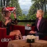 12. April 2013:  Mit Talk-Masterin Ellen DeGeneres spricht Heidi Klum über ihren bevorstehenden Geburstag, bei dem sie eine Hutparty veranstalten will. In dem Gespäch geht es auch noch mal um den Badeunfall, bei dem Heidi ihren Sohn aus dem Wasser gerettet hat. Passend dazu bekommt sie von Ellen einen Rettungsschwimmer-Hut geschenkt.