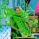April 2012: Bei der Verleihung der Kid ?s Choice Awards bekommt Heidi auf der Bühne eine Ladung grünen Glibberschleim ab.