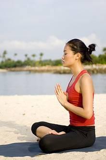 Entspannung pur. Beim Yoga findet auch der Geist die Ruhe, die er braucht