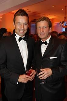 Jurymitglied Kai Pflaume und Bernd Buchholz (G+J)