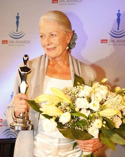 Vanessa Redgrave ist die Preisträgerin des diesjährigen Gala Spa Awards