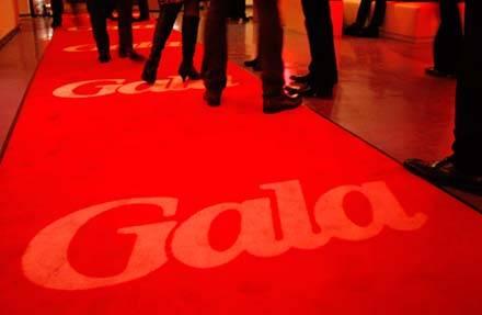 """Über den roten Teppich ging es zum """"Gala Style Club"""""""