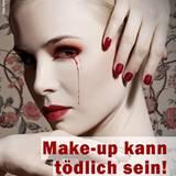 Mit diesem Anzeigenmotiv fordert Ariane Sommer, Tierversuche für Kosmetik endgültig einzustellen.