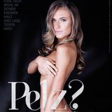 """Pelz? Lieber nackt!"": So wirbt Model Alena Gerber für die Tierrechtsorganisation Peta."