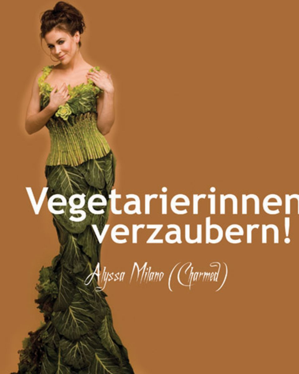 Zauberhaft! Schauspielerin Alyssa Milano