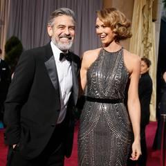 Stacy Keibler  Ex-Wrestlerin Stacy Keibler hat selber 2014 geheiratet. Sie ist von 2011 bis 2013 George Clooneys Freundin.