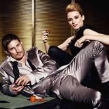 """Clemens' Anzug ist von """"Salvatore Ferragamo"""", Eva kleidet sich in Louis Vuitton"""