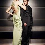 Eva in Versace und Clemens in Armani