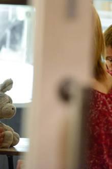 3. Juli 2012: Kurz nach Bekanntwerden der Trennung von Tom Cruise zeigt sich Katie Holmes ausgelassen und entspannt, als sie mit
