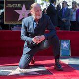 13. März 2015: Schauspieler Ed Harris kann sich über den Stern mit der Nummer 2546 freuen.