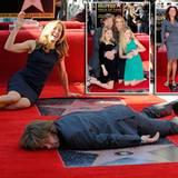 7. März 2012: Die Eheleute Felicity Huffman und William H. Macy bekommen beide einen Stern auf dem berühmten Walk of Fame. Begle