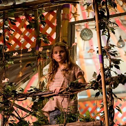Die kleine Nim (Abigail Breslin) lebt mit ihrem Vater Jack auf einer einsamen Tropeninsel