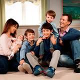 21. März 2012: Das dänische Königshaus gibt private Einblicke in das Familienleben von Prinzessin Marie und Prinz Joachim.