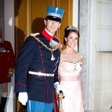 1. Januar 2015  In Dänemark startet das royale Jahr glamourös mit dem Neujahrsempfang auf Schloss Amalienborg. Hierzu erscheinen auch Prinz Joachim und Prinzessin Marie in feierlicher Garderobe.