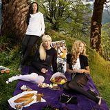 Während ihre Männer dem Pokal nachjagen, genießen Sylvie & Co. ein opulentes Picknick im Berner Oberland. Aber ein bisschen Erho
