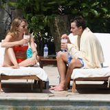 Nach der Hochzeit lieber ausruhen: Charlie Sheen mit seiner Brooke