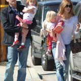 2008: Charlie Sheen und Denise Richards
