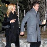 Nach den vielen Trennungsgerüchten wollen Heidi Klum und Vito Schnabel wohl besonders deutlich zeigen, dass sie zusammengehören. Im Partnerlook mit festlicher Samthose besuchen die beiden eine Vernissage in St. Moritz.