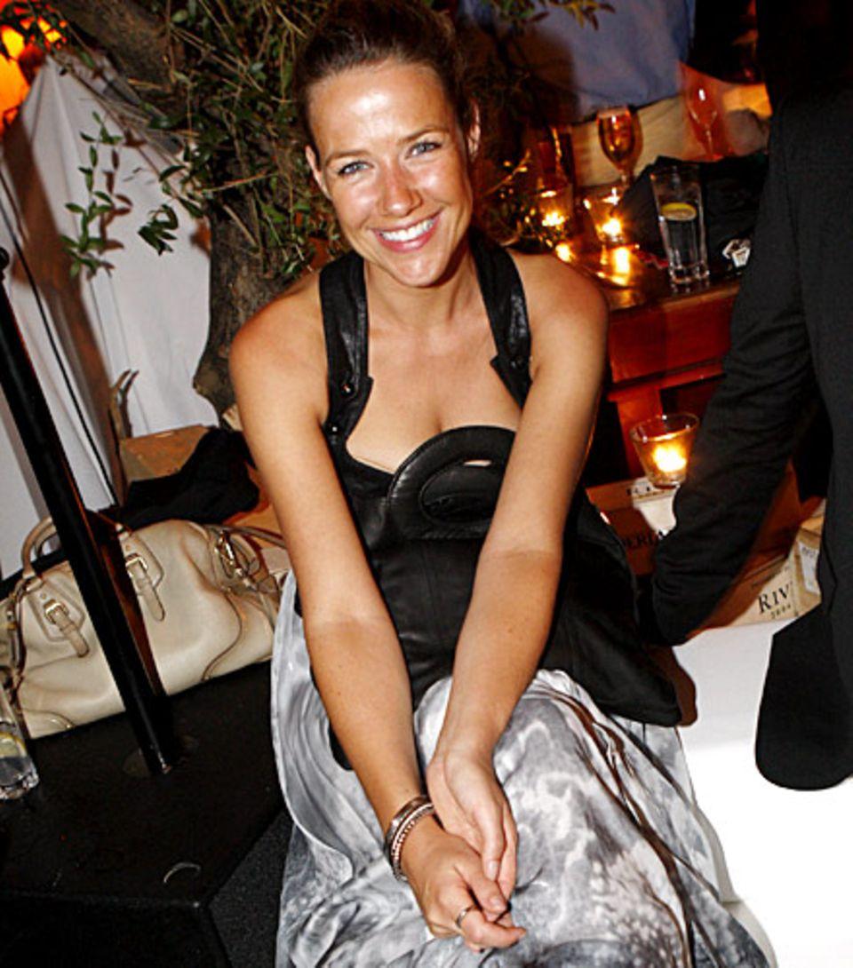 Serienstar Alexandra Neldel (in Diesel Black Gold) war begeistert von der Atmosphäre