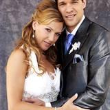 Nach 10 Jahren endlich ein Ehepaar: Michael und Simone Ballack
