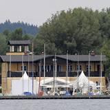 Die Hochzeit fand im Bayerischen Yacht-Club am Starnberger See statt