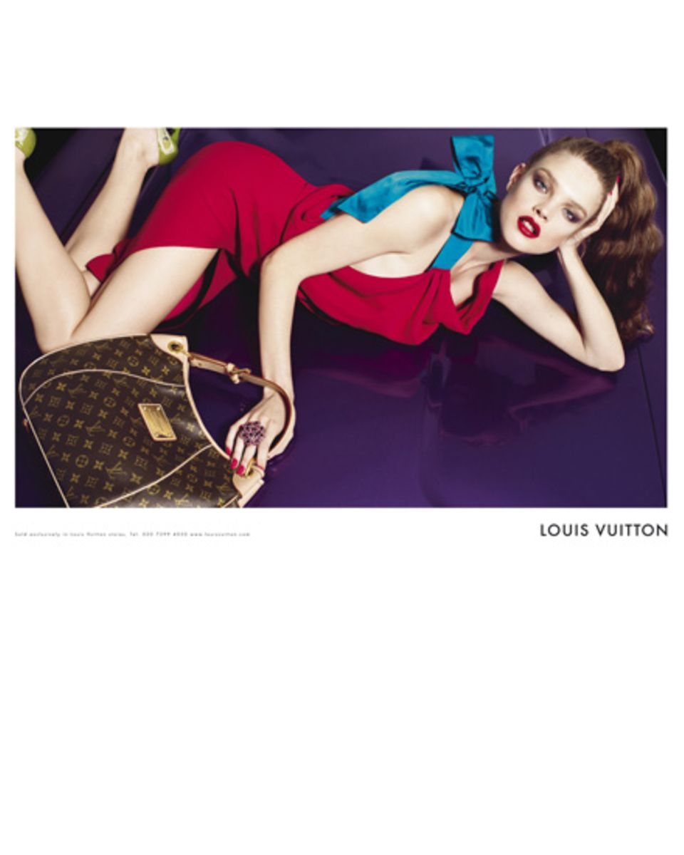 Auch Stephanie wurde erneut von Louis Vuitton gebucht (2008)
