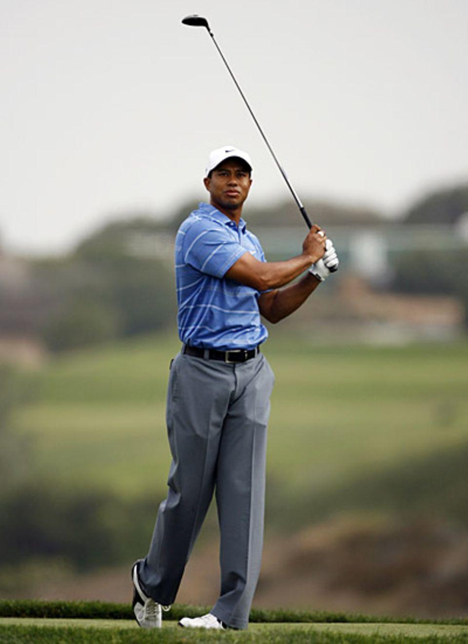 Tiger Woods, 32, US-amerikanischer Profigolfer, einer der erfolgreichsten Golfspieler der Sportgeschichte