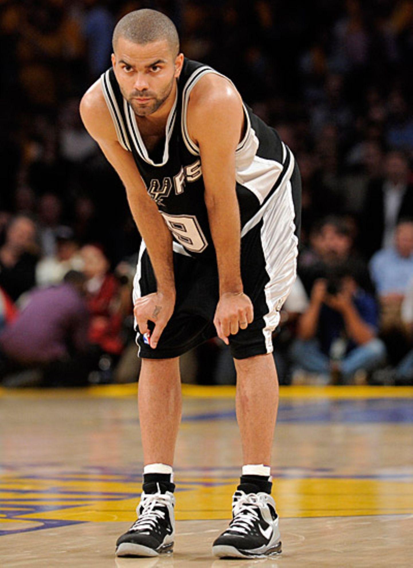 """Tony Parker, 26, französischer Basketballspieler, spielt in der NBA bei den """"San Antonio Spurs"""" und in der französischen Basketb"""