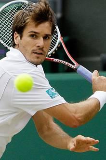 Tommy Haas, 30, Hamburger Tennisspieler, liiert mit der amerikanischen Schauspielerin Sara Foster