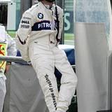 Nick Heidfeld, 31, deutscher Rennfahrer der Formel 1
