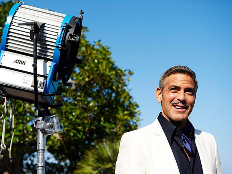 Ins perfekte Licht gerückt: George Clooney