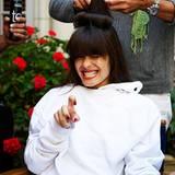 Auch Hairstyling kann anstrengend sein