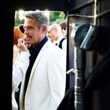 Auch Mr. Clooney bekommt den letzten Schliff verpasst