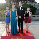 """Im chinesischen Wuhan wird demnächst das fünfte """"Madame Tussaud's"""" in Asien eröffnet. Die ersten Stargäste aus Wachs sind schon da. Besucher können sich bereits mit Prinz William und Herzogin Catherine fotografieren lassen."""