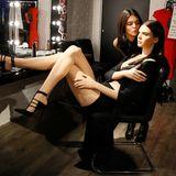 Kendall Jenner findet ihr Ebenbild aus Wachs bei Madame Tussauds in London zum Knutschen.