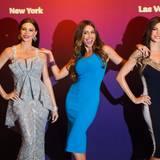 Gleich zwei Wachsfiguren gibt es von Schauspielerin Sofia Vergara - eine für das Kabinett in New York und eine für Las Vegas.